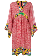 Duro Olowu Vintage 2000 floral print tunic dress
