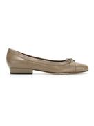 Sarah Chofakian round toe ballerinas