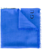 Gucci tiger print scarf
