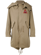Givenchy Illuminati patch parka jacket