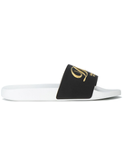 Dolce Gabanna Dolce & Gabbana luxury hotel embroidered slides