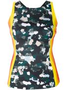 No Ka' Oi striped mosaic camouflage tank