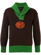 Fake Alpha Vintage 1920s school sweater