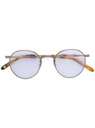 Garrett Leight round glasses