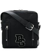 Dolce Gabanna Dolce & Gabbana medium brand patch messenger bag
