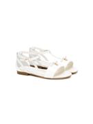 Dolce Gabanna Dolce & Gabbana Kids strappy flat sandals
