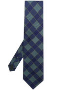 Romeo Gigli Pre-Owned square print tie