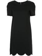 Comme Des Garçons Pre-Owned Comme Des Garons Pre-Owned scalloped short dress