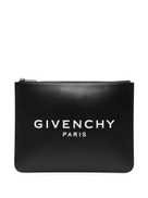 Givenchy logo-printed clutch