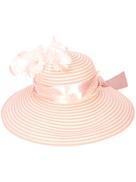 Gigi Burris Millinery feather embellished hat