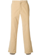 Romeo Gigli Pre-Owned corduroy straight-leg trousers