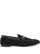 Gucci Gucci Jordaan GG velvet loafers