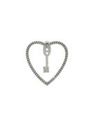 Yvonne Léon Yvonne Lon 18kt gold and diamond Heart Earrings
