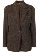 Romeo Gigli Pre-Owned 1990's tweed jacket