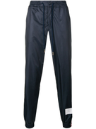 Thom Browne Rwb stripe ripstop track pants