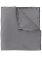 Salvatore Ferragamo textured silk pocket square