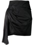 Givenchy short draped skirt
