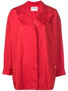 معطف متوسط الطول مخفي من شانيل