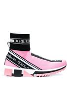 Dolce Gabanna Dolce & Gabbana Sorrento hi-top sock trainers