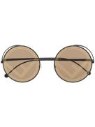 Fendi Eyewear Fendirama round sunglasses