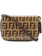 Fendi Pre-Owned Zucca pattern coin case pochette wallet