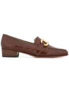 Salvatore Ferragamo Pre-Owned logo horsebit loafers