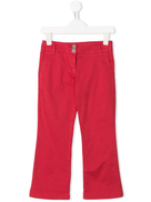 Dondup Kids red flared trousers