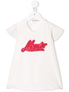 Moncler Kids Moncler Enfant A shape T-shirt
