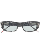 Thom Browne Eyewear TB417 tortoiseshell rectangular-frame sunglasses