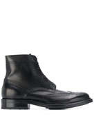 Saint Laurent brogue ankle boots