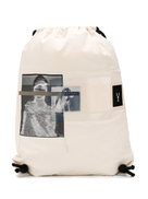 Rick Owens DRKSHDW photographic print backpack