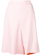 Y/Project Y Project contrast lining skirt