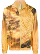 Cottweiler abstract print jacket