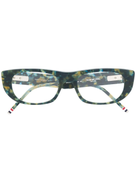 Thom Browne Eyewear rectangular frame glasses