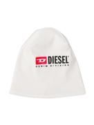 Diesel Kids logo printed beanie