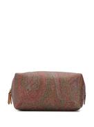 ETRO paisley print wash bag