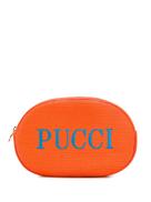 Emilio Pucci logo make up bag
