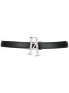 Palm Angels logo buckle belt