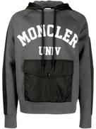 Moncler logo drawstring hoodie
