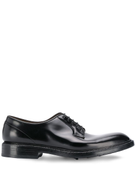 Green George low heel derby shoes