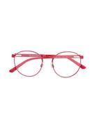 Polo Ralph Lauren round-frame logo glasses
