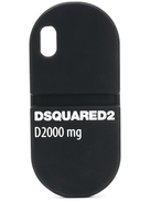 Dsquared2 D2000 mg logo pill iPhone X case