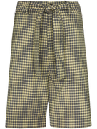 Plan C tie waist shorts