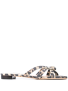 Loeffler Randall leopard print Eveline sandals