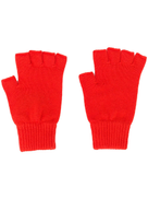 Pringle of Scotland fingerless cashmere gloves