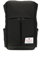 Makavelic Triangle logo patch backpack