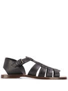 Silvano Sassetti strappy side buckle sandals