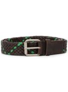 Marni two-tone woven belt