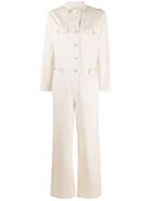 Aspesi wide-leg cotton jumpsuit