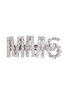 MM6 Maison Margiela crystal-embellished hair clip
